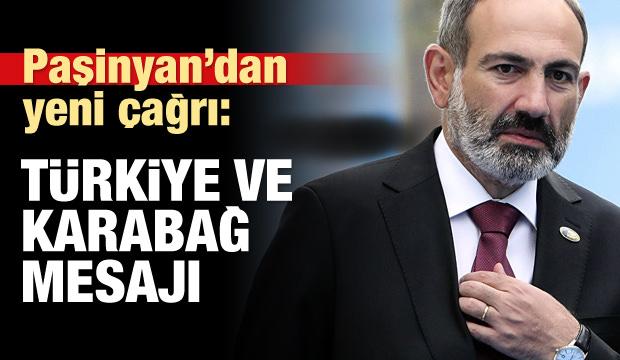 Ermenistan Başbakanı'ndan Türkiye mesajı