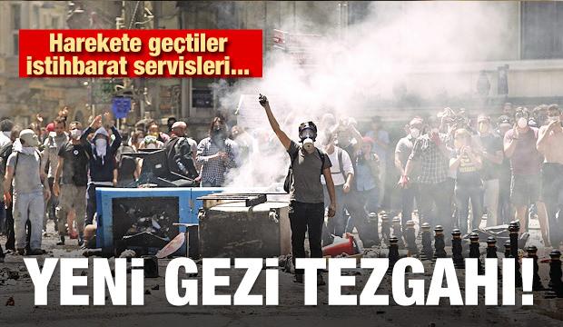 Harekete geçtiler! Yeni Gezi tezgahı